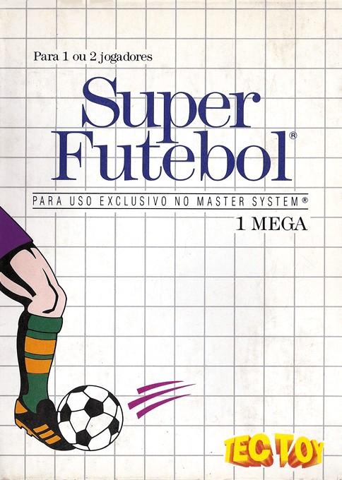Front boxart of the game World Soccer (Brazil) on Sega Master System