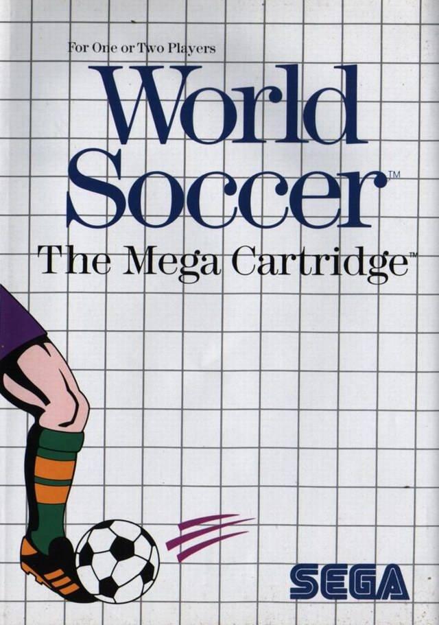 Front boxart of the game World Soccer (Europe) on Sega Master System