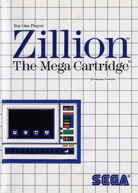 Front boxart of the game Akai Koudan Zillion (United States) on Sega Master System