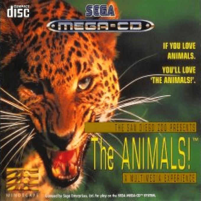Front boxart of the game The Animals! (Europe) on Sega Mega CD