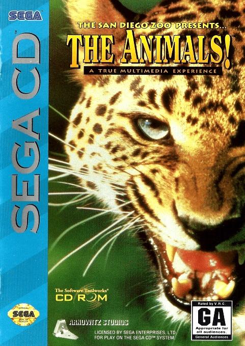 Front boxart of the game The Animals! (United States) on Sega Mega CD