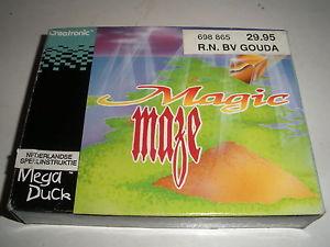 Front boxart of the game Magic Maze on Videojet Mega Duck