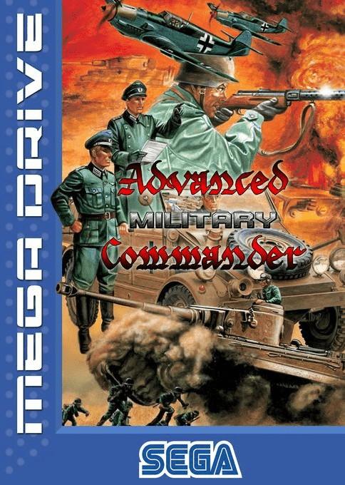Front boxart of the game Advanced Daisenryaku (Europe) on Sega Megadrive
