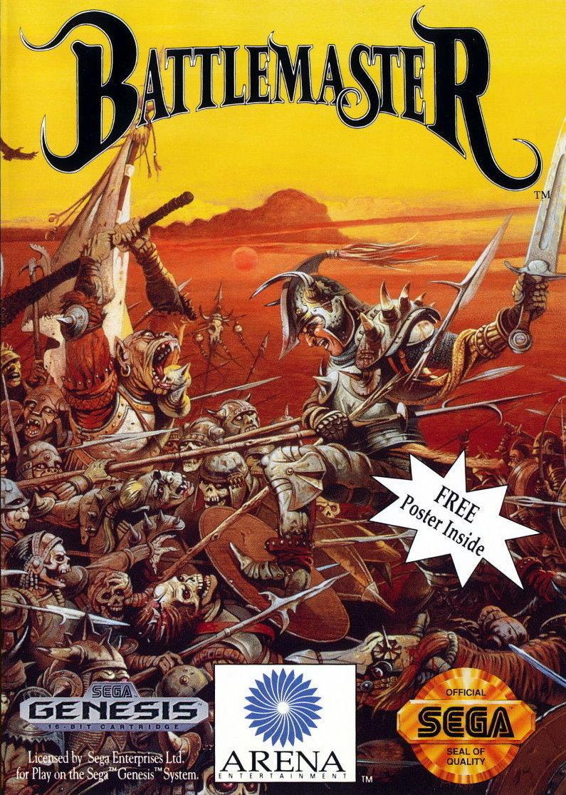 Front boxart of the game Battlemaster (United States) on Sega Megadrive