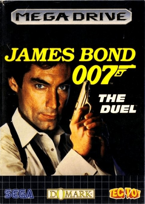 Front boxart of the game James Bond 007 - The Duel (Brazil) on Sega Megadrive