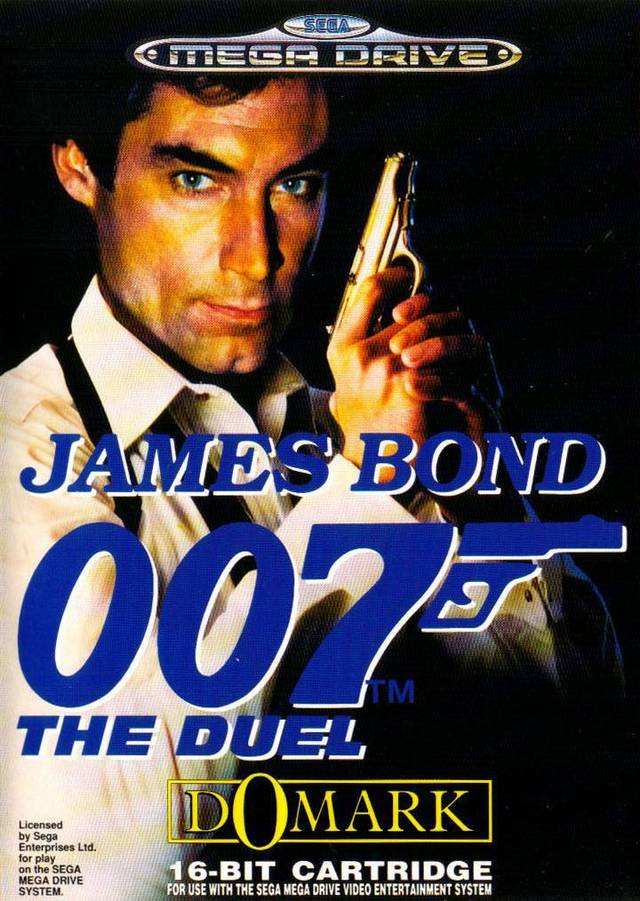 Front boxart of the game James Bond 007 - The Duel (Europe) on Sega Megadrive