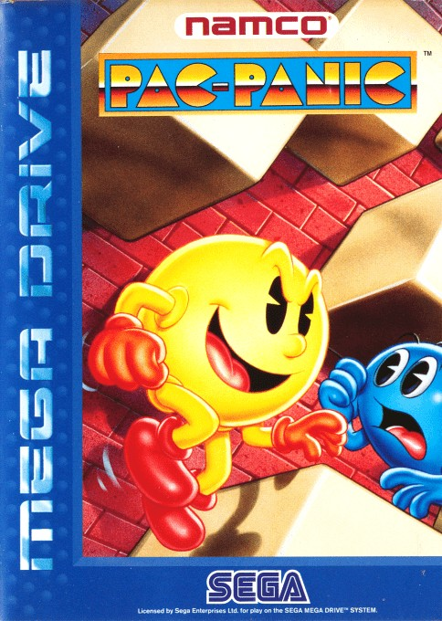 Front boxart of the game Pac-Attack (Europe) on Sega Megadrive