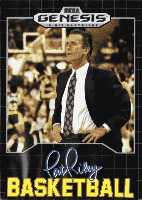 Front boxart of the game Pat Riley Basketball (United States) on Sega Megadrive