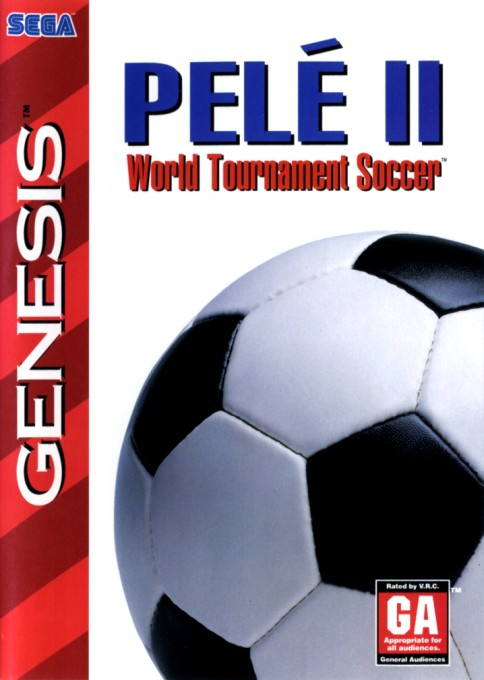 Front boxart of the game Pele's World Tournament Soccer (United States) on Sega Megadrive