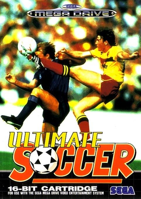 Front boxart of the game Ultimate Soccer (Europe) on Sega Megadrive