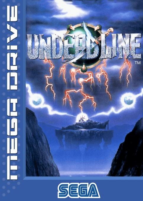 Front boxart of the game Undead Line (Europe) on Sega Megadrive