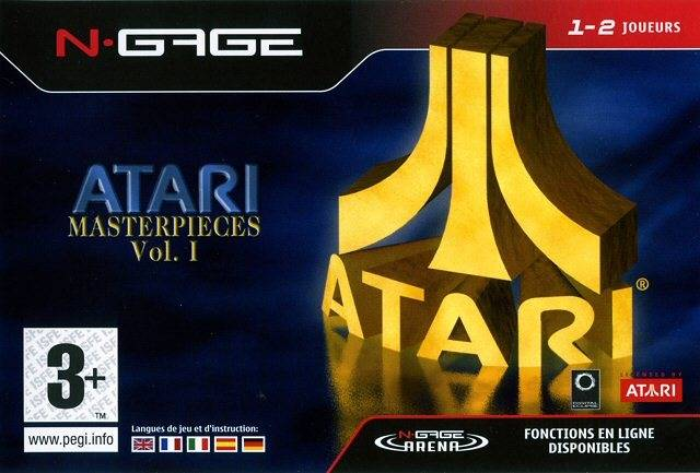 Front boxart of the game Atari Masterpieces Vol. I (Europe) on Nokia N-Gage
