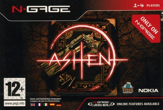 Front boxart of the game Ashen (Europe) on Nokia N-Gage
