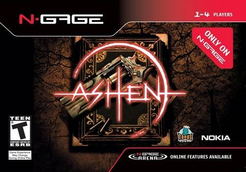 Front boxart of the game Ashen (United States) on Nokia N-Gage
