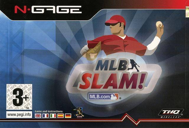 Front boxart of the game MLB Slam! (Europe) on Nokia N-Gage