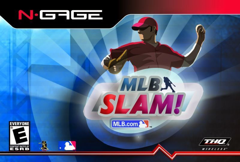 Front boxart of the game MLB Slam! (United States) on Nokia N-Gage