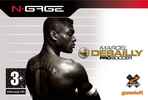 Front boxart of the game Marcel Desailly Pro Soccer (Europe) on Nokia N-Gage