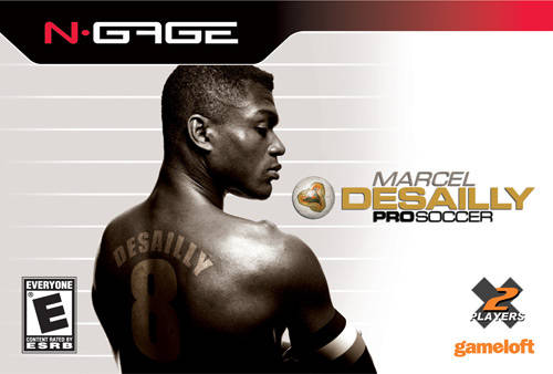 Front boxart of the game Marcel Desailly Pro Soccer (United States) on Nokia N-Gage