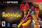 Front boxart of the game Pandemonium! (United States) on Nokia N-Gage