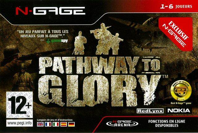 Front boxart of the game Pathway to Glory (Europe) on Nokia N-Gage