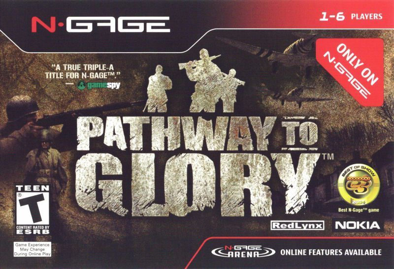 Front boxart of the game Pathway to Glory (United States) on Nokia N-Gage