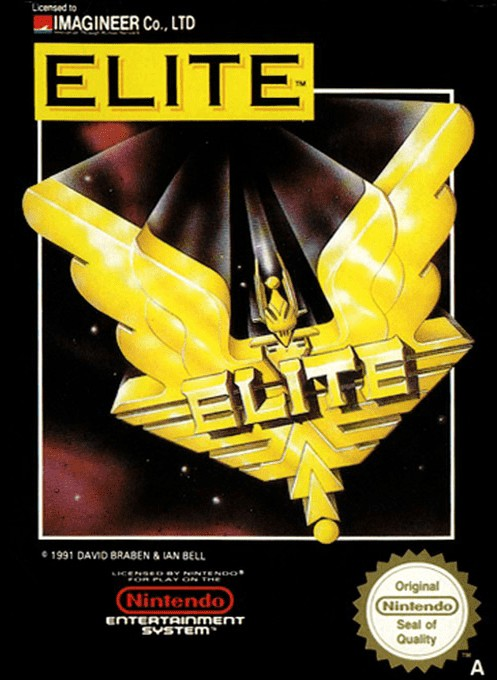 Front boxart of the game Elite (Italy) on Nintendo NES