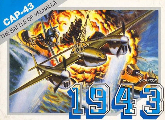 Front boxart of the game 1943 - The Battle of Midway (Japan) on Nintendo NES