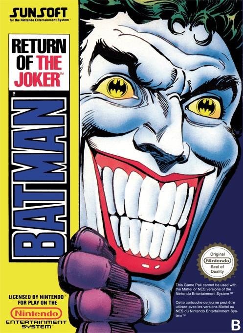 Front boxart of the game Batman - Return of the Joker (Europe) on Nintendo NES