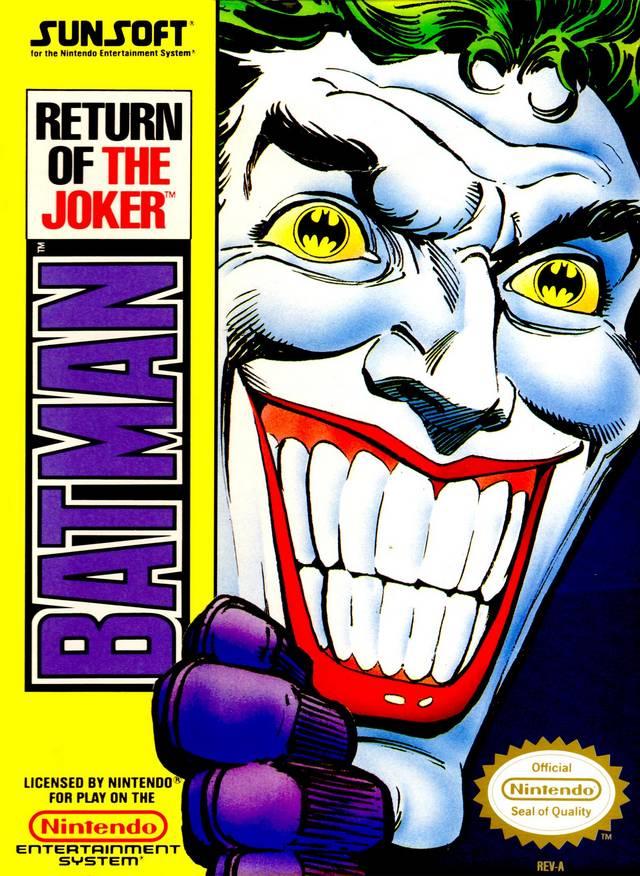 Front boxart of the game Batman - Return of the Joker (United States) on Nintendo NES