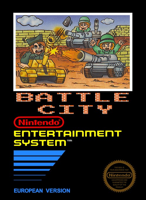 Battle City for Nintendo NES - The Video Games Museum