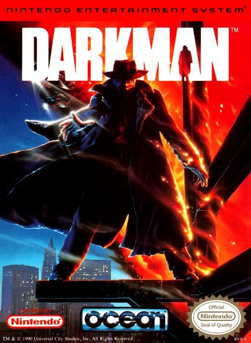 Front boxart of the game Darkman (United States) on Nintendo NES