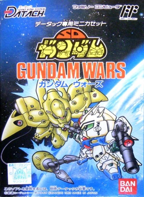 Front boxart of the game Datach - SD Gundam - Gundam Wars (Japan) on Nintendo NES
