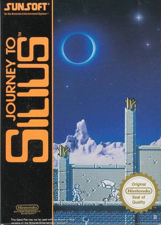 Front boxart of the game Journey to Silius (Europe) on Nintendo NES