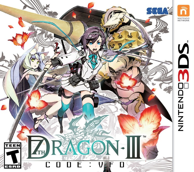 Front boxart of the game 7th Dragon III Code - VFD (United States) on Nintendo 3DS