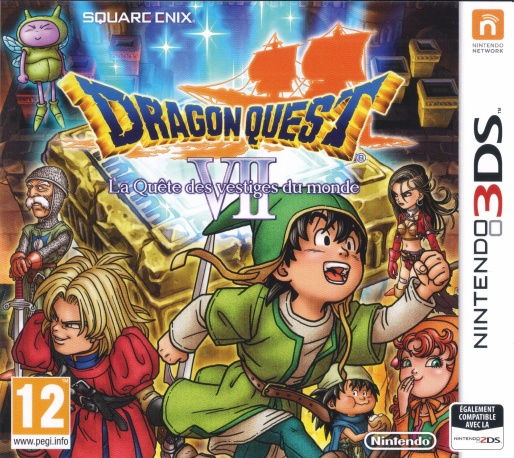 Front boxart of the game Dragon Quest VII - Fragments of the Forgotten Past (France) on Nintendo 3DS