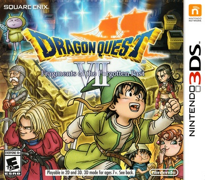Front boxart of the game Dragon Quest VII - Fragments of the Forgotten Past (United States) on Nintendo 3DS