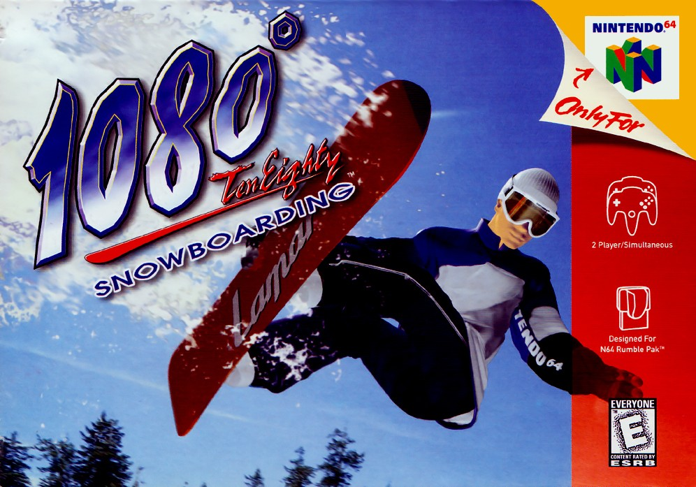 Front boxart of the game 1080 Snowboarding (United States) on Nintendo 64