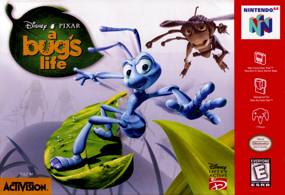 Bug's Life, A boxarts for Nintendo 64 - The Video Games Museum