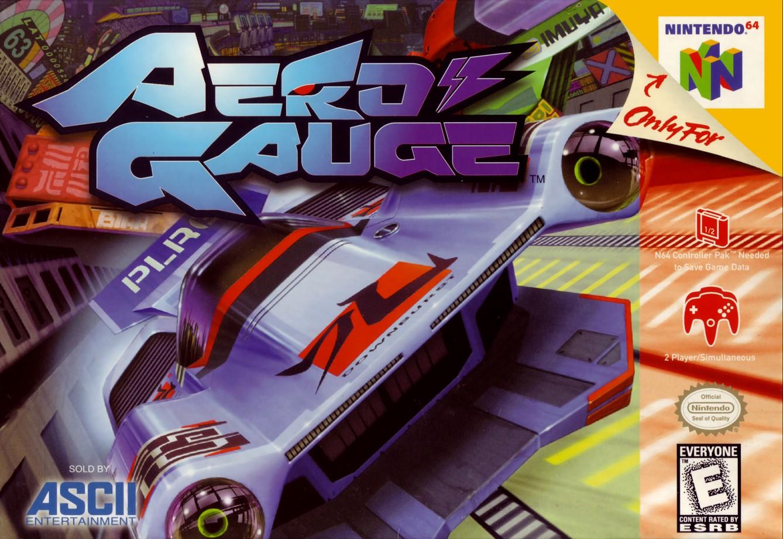 Front boxart of the game AeroGauge (United States) on Nintendo 64