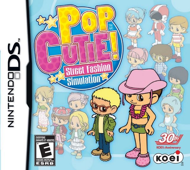 Pop Cutie Street Fashion Simulation For Nintendo Ds The Video