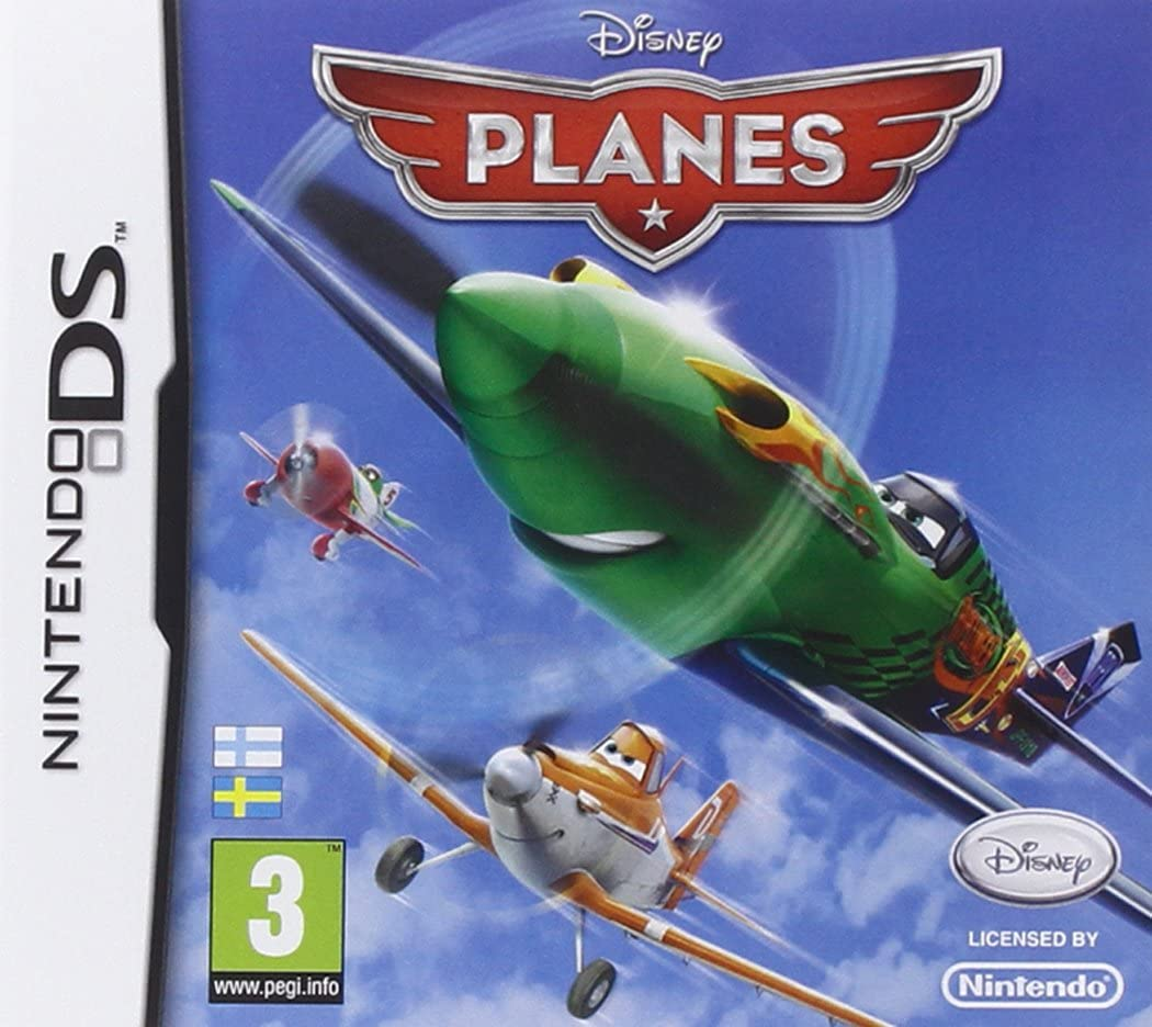 Front boxart of the game Disney Planes (Europe) on Nintendo DS