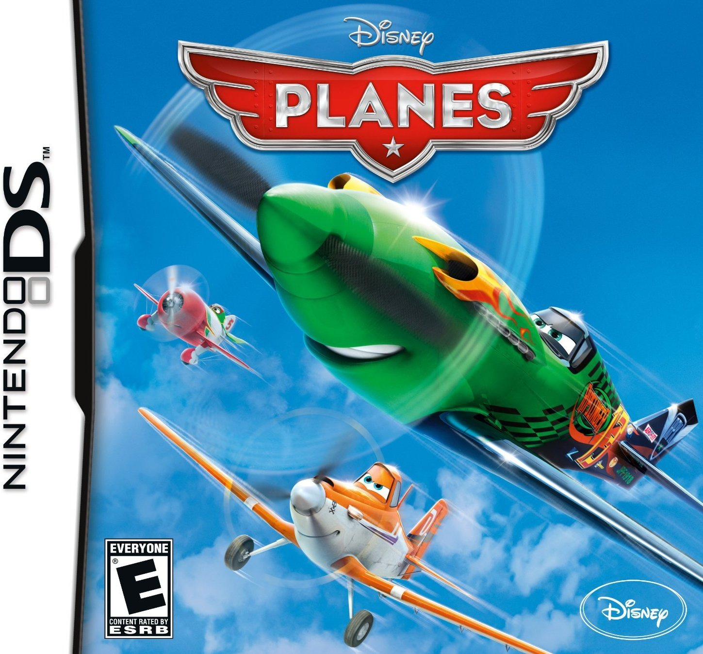 Front boxart of the game Disney Planes (United States) on Nintendo DS