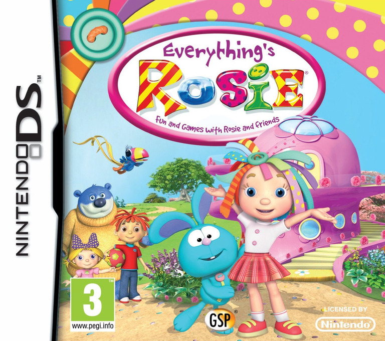 Front boxart of the game Everything's Rosie (Europe) on Nintendo DS