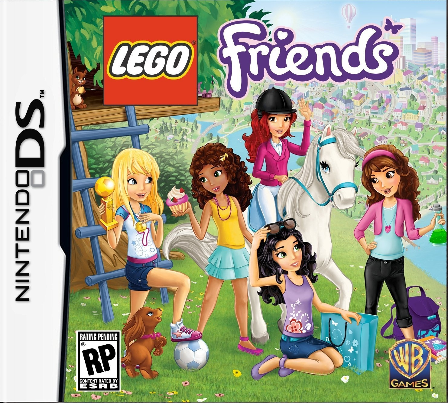 Front boxart of the game LEGO Friends (United States) on Nintendo DS