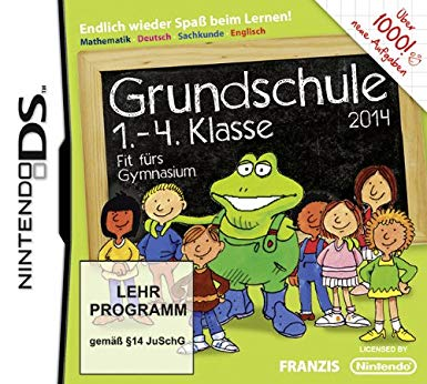 Front boxart of the game Grundschule - 1.-4. Klasse - Fit fuers Gymnasium - 2014 (Germany) on Nintendo DS