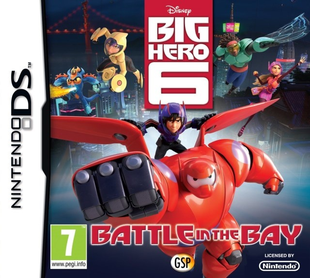 Front boxart of the game Disney Big Hero 6 - Battle in the Bay (Europe) on Nintendo DS