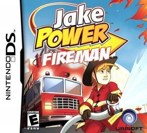 Jake Power - Firefighter videos for Nintendo DS - The Video