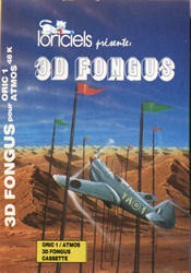 Front boxart of the game 3D Fongus on Tangerine Computer Systems Oric