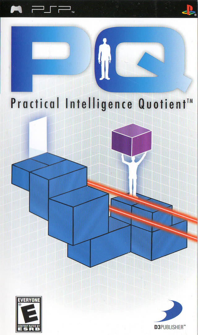 Front boxart of the game PQ - Practical Intelligence Quotient (United States) on Sony PSP