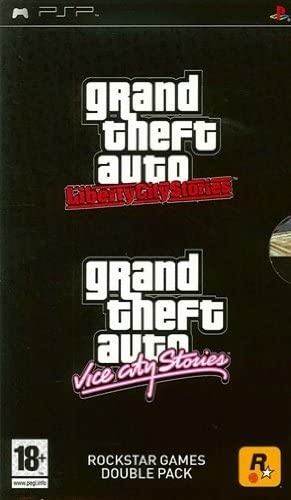 Front boxart of the game Grand Theft Auto Vice City Stories + Midnight Club 3 DUB Edition (Europe) on Sony PSP